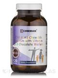 Children's Chewable Calcium with Vitamin D-3 Chocolate Wafers - 120 Wafers