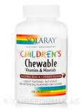Children's Chewable Vitamins & Minerals, Natural Black Cherry Flavor - 120 Chewables