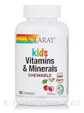Children's Chewable Vitamins & Minerals, Natural Black Cherry Flavor - 120 Chewables