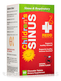 Children's Sinus Support, Natural Cherry Flavor - 60 Chewable Tablets