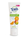 Children's Toothpaste, Outrageous Orange Mango™ (with Fluoride) - 4.2 oz (119 Grams)