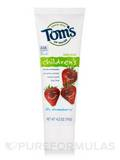 Children's Toothpaste, Silly Strawberry™ (with Fluoride) - 4.2 oz (119 Grams)