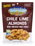 Chile Lime Almonds - New Mexico Red Chile - 6 oz (160 Grams)