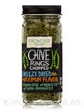 Chives Rings Chopped, Freeze-Dried - 0.14 oz (4 Grams)
