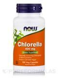 Chlorella 400 mg 100 Vegetarian Capsules