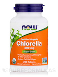 Chlorella (Organic) 500 mg 200 Tablets