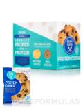 Chocolate Chip Peanut Butter Protein Cookie - Box of 12 Packed Cookies (33.84 oz / 960 Grams)