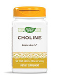 Choline (Bitartrate) 500 mg - 100 Tablets