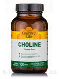 Choline 650 mg 100 Tablets