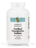 Purified Chondroitin Sulfates 180 Capsules