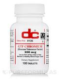 GTF Chromium - 100 Tablets