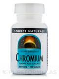 Chromium Chelated 200 mcg 100 Tablets