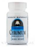 Chromium Chelated 200 mcg 250 Tablets