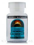 Chromium GTF 200 mcg Yeast-Free 120 Tablets