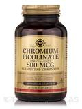Chromium Picolinate 500 mcg - 120 Vegetable Capsules