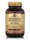 Chromium Picolinate 500 mcg - 60 Vegetable Capsules