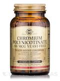 Chromium Polynicotinate 200 mcg Yeast-Free - 100 Vegetable Capsules
