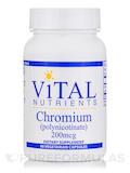 Chromium (polynicotinate) 200 mcg - 90 Vegetarian Capsules