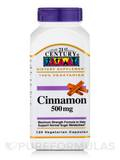 Cinnamon 500 mg - 120 Vegetarian Capsules