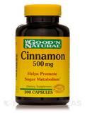 Cinnamon 500 mg - 200 Capsules
