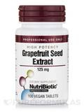 Grapefruit Seed Extract (High Potency), 125 mg - 100 Vegan Tablets