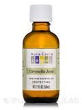 Citronella Java Essential Oil (Cymbopogon winterianus) - 2 fl. oz (59 ml)