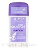 Clear Enzyme Deodorant Stick Lavender 2 oz (57 Grams)