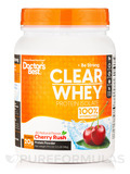Clear Whey Protein Isolate Powder, Cherry Rush Flavor - 19.5 oz (546 Grams)