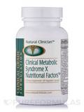 Clinical Metabolic Syndrome X Nutritional Factors 90 Capsules