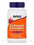 Co-Enzyme B-Complex with Alpha Lipoic Acid and CoQ10 - 60 Veg Capsules