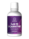 Co-Q10 with L-Carnitine Liquid - Orange 16 oz
