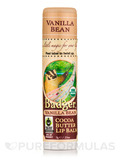 Cocoa Butter Lip Balm, Vanilla Bean - 0.25 oz (7 Grams)