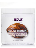 NOW® Solutions - Cocoa Butter with Jojoba Oil - 6.5 fl. oz (192 ml)