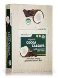 Organic Cocoa Cassava Bars (with Coconut & Chia Seeds) - Box of 12 Bars (1.55 oz / 44 Grams each)