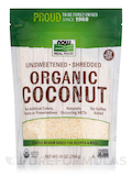 NOW® Real Food - Organic Coconut (Unsweetened, Shredded) - 10 oz (284 Grams)