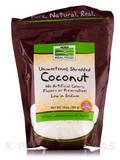 NOW Real Food® - Coconut (Unsweetened, Shredded) - 10 oz (284 Grams)