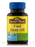 Cod Liver Oil 100 Softgels