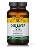 Cod Liver Oil - 250 Softgels