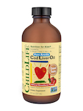 Cod Liver Oil Natural Strawberry Flavor 8 oz (237 ml)