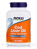 Cod Liver Oil Extra Strength 1,000 mg 90 Softgels