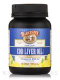 Cod Liver Oil (Fresh Catch) Omega-3 EPA/DHA Lemonade Flavor 1000 mg 100 Softgels