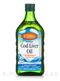 Cod Liver Oil 1,100 mg, Natural Flavor - 16.9 fl. oz (500 ml)