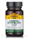 Coenzyme Active B6 Caps P5P/PAK 30 Vegetarian Capsules