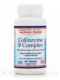 CoEnzyme B Complex 60 Tablets