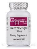 Co-Enzyme Q10 100 mg - 200 Softgels