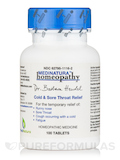 Cold & Sore Throat Relief - 100 Tablets