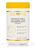 Collagen Latte, Madagascar Vanilla - 11.5 oz (327 Grams)