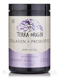 Collagen + Probiotics Powder, Berry Melon Flavor - 10.14 oz (287.5 Grams)