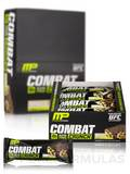 Combat Crunch Bars - Chocolate Chip Cookie Flavor - Box of 12 Bars (2.22 oz / 63 Grams each)
