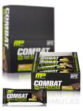 Combat Crunch Bars - Chocolate Peanut Butter Cup Flavor - Box of 12 Bars (2.22 oz / 63 Grams each)